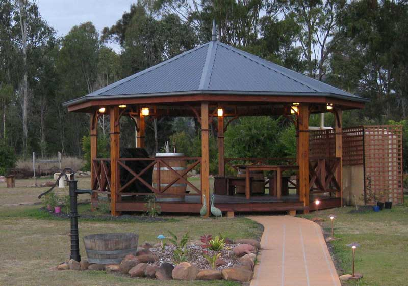 60 Meter Gazebos Custom Built