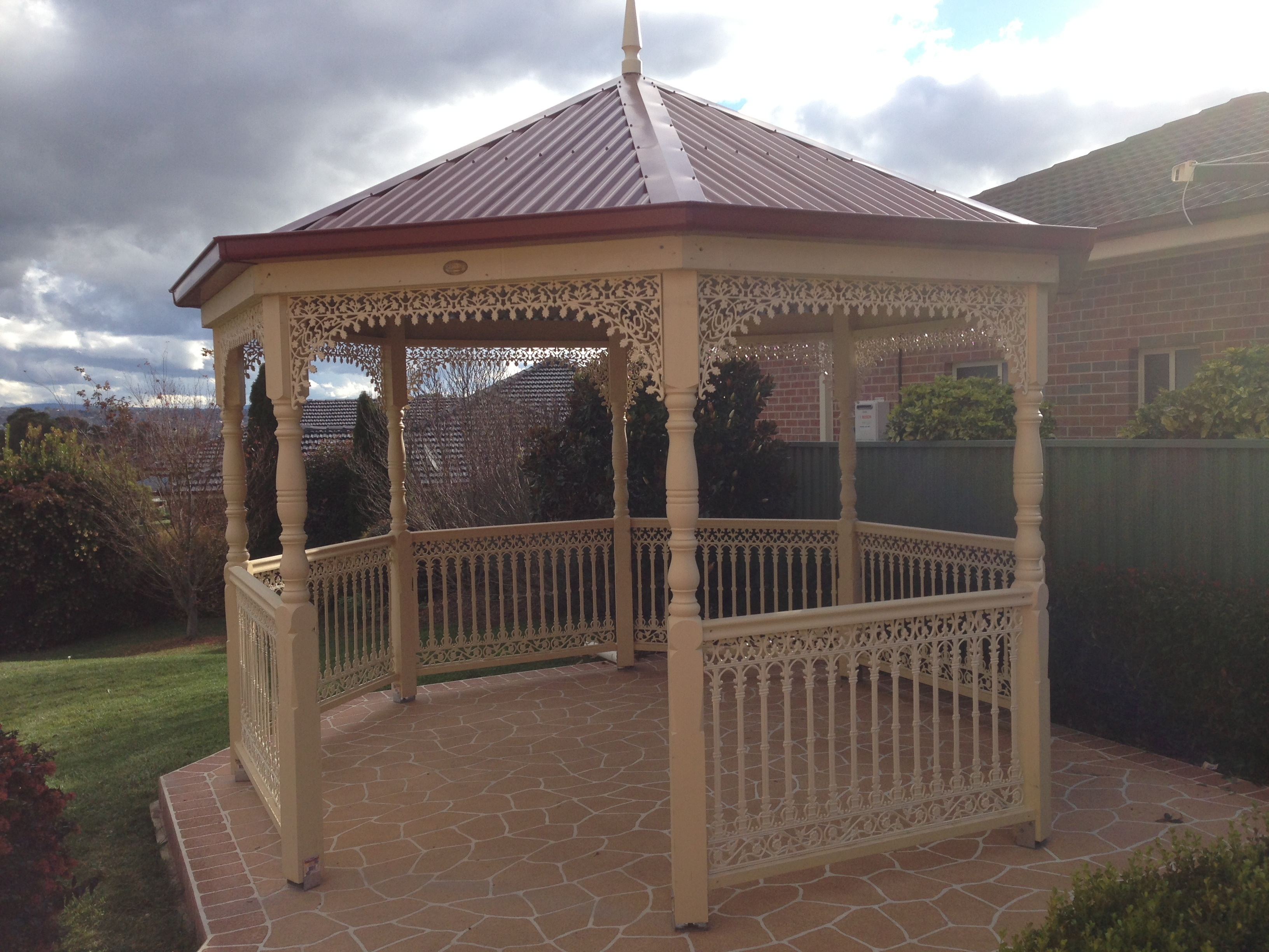5 meter bazebo built in bathurst nsw custom built gazebos