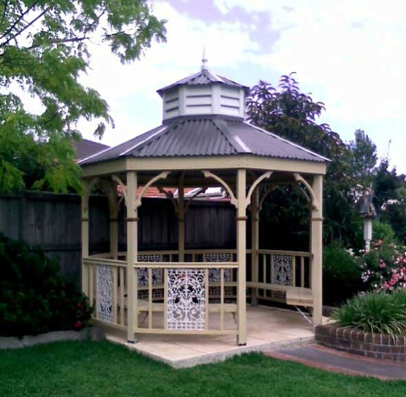 About Custom Built Gazebos Custom Built Gazebos